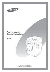 lavatrice samsung manuale uso istruzioni libretto