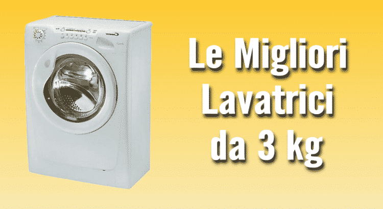 lavatrice 3 kg