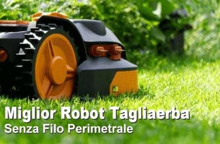Robot tagliaerba senza filo perimetrale