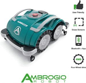 Robot Ambrogio L60 Deluxe comando remoto con App